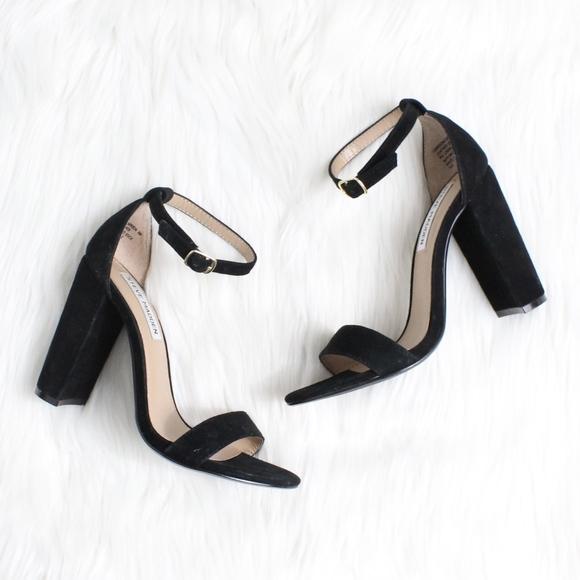 f1dc22d11c4 Steve Madden Shoes - STEVE MADDEN Carrson Sandal in Black Seude